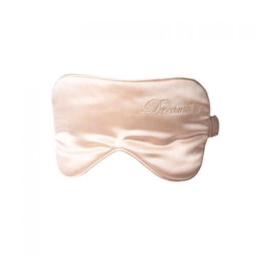 hodvábna maska na oči prosecco champagne